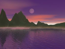 Purple Lagoon by chasef