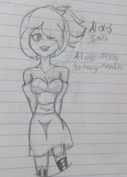 Alexis Smith's Huntress Outfit by A-Little-Melody