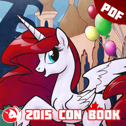 BronyCAN 2015 Convention Guide Book by Firestorm-CAN