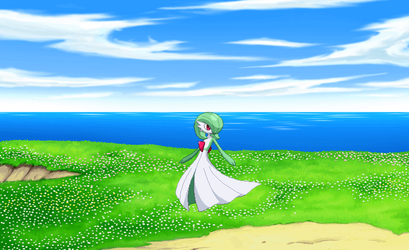 Gardevoir Has Some Moves. by genesis128