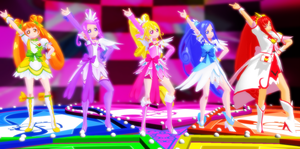 Doki Doki Precure - Love Link (VIDEO) + DOWNLOADS by xxSnowCherryxx