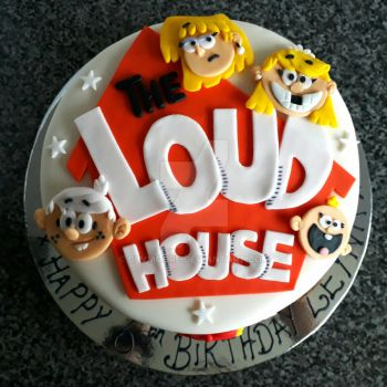 The Loud House cake by clvmoore