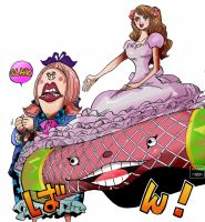 One Piece Chapter 880 Chiffon Pudding Sanji Carpet by Amanomoon