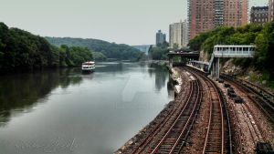 Curve of the Harlem River by steeber