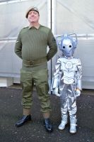 U.N.I.T. Trooper and mini Cyberman by masimage