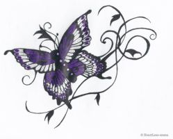 butterfly 2 by HeartLess-emma
