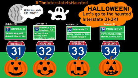 Hallointerstate: The Interstate Is Haunted by Interstate48