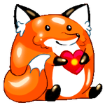Foxy loves you XD by pin100