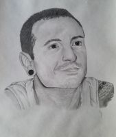 Chester Bennington by vjohnst5