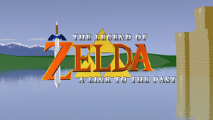 A link to the past intro 3d by emanon01