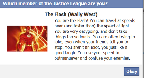 I am .. The Flash yay :D by iwildaydreambeliever