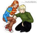Ginny, Draco by melee