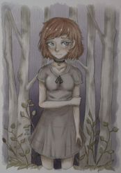 In the Woods ~ OC by SonOfAtom101