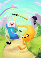 Adventure Time! by Crabhearst