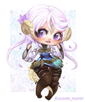 Akiiyo - Chibi Commission by clover-teapot