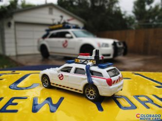 Matchbox Ecto-1 Magnum - Ghostbusters by Boomerjinks