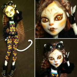 Monster High Custom: Calico by TerribleToadQueen