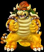 Bowser by ChainWolfZarokku