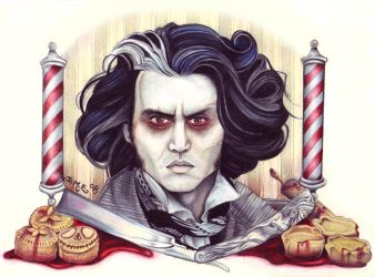 Sweeney Todd by tavington