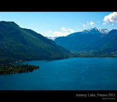 Annecy Lake, France, 2011 by DaRomano