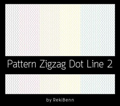 Pattern Zigzag Dot Line 2 by TheSeekerReki