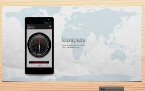 Android: Compass 2.0 App.Concept by bharathp666