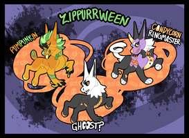 ZIPPURRWEEN [ADOPTS]: (CLOSED) by Anselovfyre