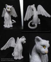 Winged cat by Kivuli