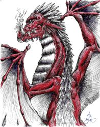 Red Dragon by PixyStix92