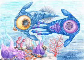 .:[FANART] SUBNAUTICA:. by Maniactheleader