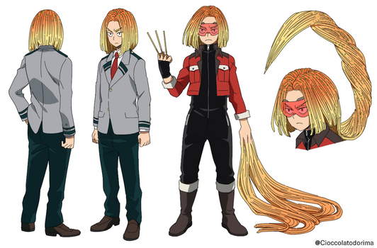 BNHA Fan Character: Supahgetti by Cioccolatodorima
