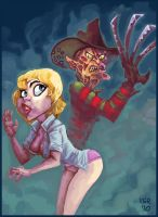 nightmare on elm street by victorroa