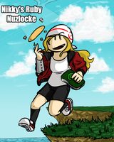 Nikky's Ruby Nuzlocke Cover by NikkyDash