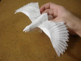 Eagle-Nguyen Cuong by origami-artist-galen