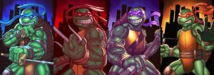 Four Brothers by monstrous64