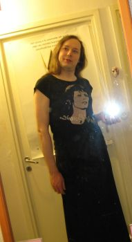 Some transvestite's mirror photo by S---t---o---r---m