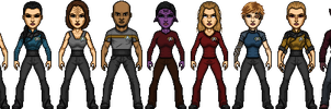 Star Trek Castaways Voyager Crew Year of Hell by SpiderTrekfan616
