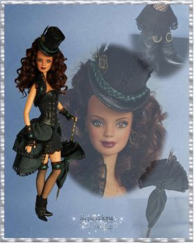 Naomi, a Steampunk Barbie by ReflectionsByIce