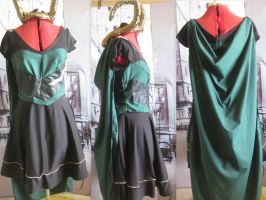 Loki Dress - Final Product by Misguided-Ghost1612