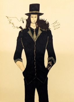 Rob Lucci of CP9 by FriendofaWolf