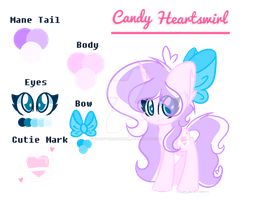 | Oc | Candy Heartswirl | [Color Guide][V2] by Candy-Heartswirl