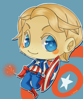 Captain America by lapaa