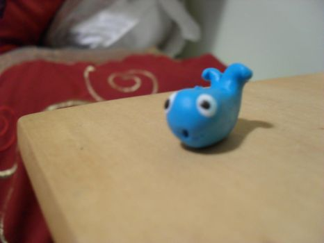 fimo whale by emilie-draw