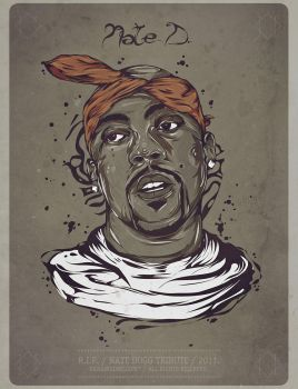 Nate Dogg Tribute by insaneKaffeine