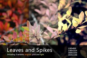 Leaves and Spikes by shaktee
