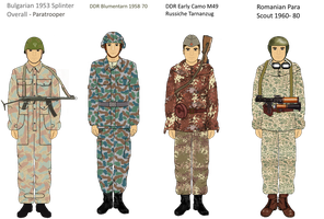 Early Warsaw Pact camo Part 2 by camorus----234