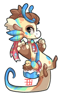 #460 Event Bagbean w/m - Easter Auction closed by griffsnuff