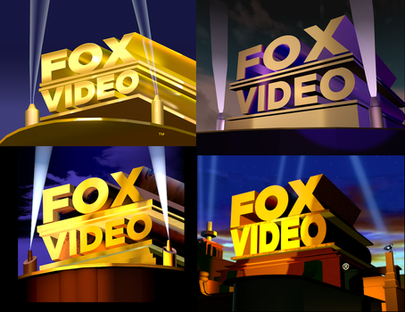 Fox Video 1990's Remakes V5 by SuperBaster2015