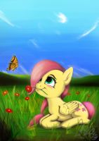 Young Fluttershy by Mizore43