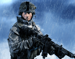 Scout Plays Battlefield 3 by LordHayabusa357